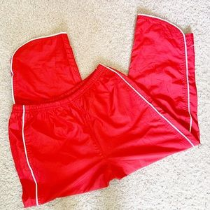 Nike Boy's Youth Red Athletic Track Pants, Small